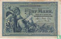 Reichsschuldenverwaltung, 5 Mark 1904 (A)