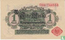 Reichsschuldenverwaltung, 1 Mark 1914 (B)