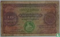 Mozambique 10 Centavos 1914
