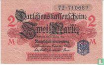 Reichsschuldenverwaltung, 2 Mark 1914 (52C)