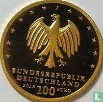 "Duitsland 100 euro 2013 (PROOF - J) ""Dessau - Wörlitz"""