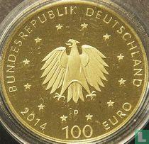 """Duitsland 100 euro 2014 (PROOF - D) """"Lorsch Cloister"""""""