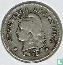 Argentinië 10 centavos 1918