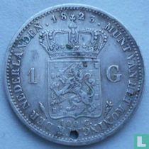 Netherlands 1 Gulden 1823 (caduseus)