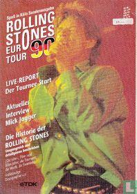 Rolling Stones: tijdschrift Eurotour 1990 #