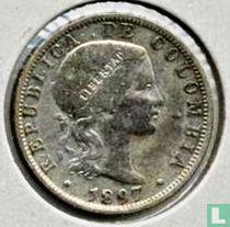 Colombia 10 centavos 1897