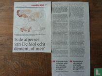 Is de afperser van De Mol echt dement of niet?