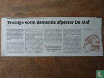 Ernstige vorm dementie afperser De Mol