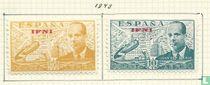 1949 Juan de la Sierva met opdruk Ifni