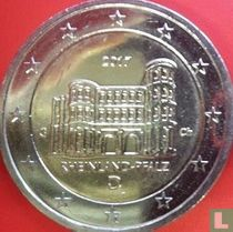 "Duitsland 2 euro 2017 (G) ""Rheinland - Pfalz"""