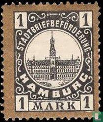 Stadhuis van Hamburg