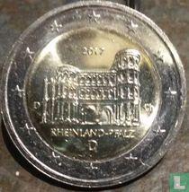 "Duitsland 2 euro 2017 (D) ""Rheinland - Pfalz"""