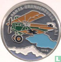 "Benin 1000 francs 1995 (PROOF) ""Hansa - Brandenburgh D. I"""