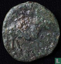 Castulo, Spanje  Semis  200-100 BCE