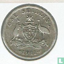 Australien 1 Shilling 1911