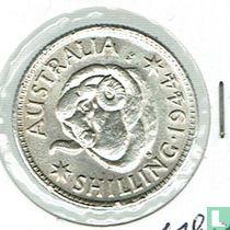 Australie 1 shilling 1944 S