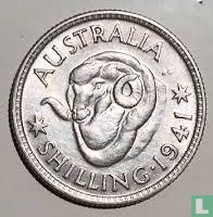 Australië 1 shilling 1941