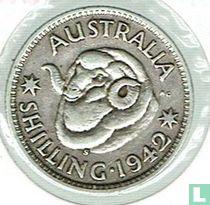 Australie 1 shilling 1942 (S)