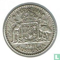 Australië 1 florin 1941