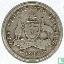 Australien 1 Florin 1914 (kein Münzzeichen)