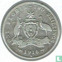 Australien 1 Florin 1916