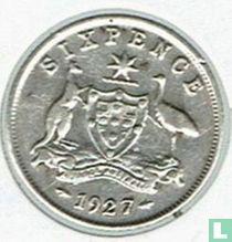 Australië 6 pence 1927