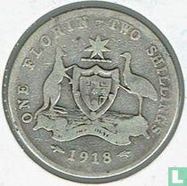 Australien 1 Florin 1918