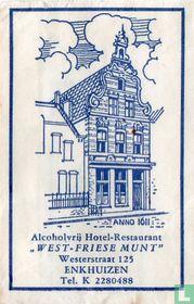 "Alcoholvrij Hotel Restaurant ""West Friese Munt"""
