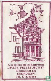"Alcoholvrij Hotel Restaurant ""West-Friese Munt"""