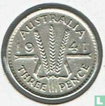 Australië 3 pence 1941