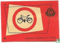 Zabranjen saobracaj za bicikle