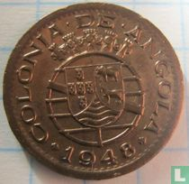 "Angola 10 centavos 1948 ""300th Anniversary - Revolution of 1648"""