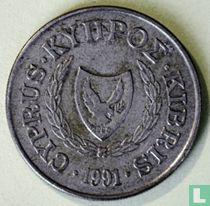 Cyprus 20 cents 1991