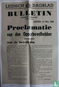 Leidsch Dagblad bulletin