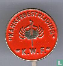 """Kankerbestrijding"" ""K.W.F."" [red]"