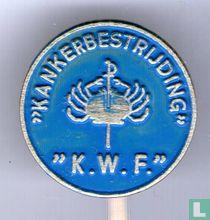 """""""Kankerbestrijding"""" """"K.W.F."""" [blue]"""