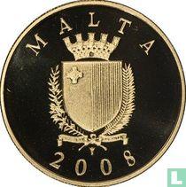 """Malta 50 euro 2008 (PROOF) """"Auberge de Castille"""""""
