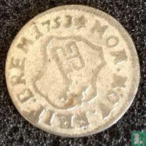 Bremen 1 groten 1753