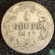 Bremen 6 grote 1857