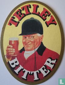 Tetley Bitter - Look out for the Tetley Huntsman