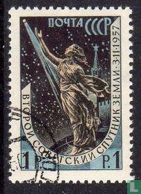 Sputnik-2 zu starten