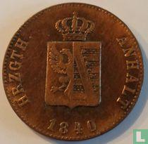 Anhalt-Bernburg 3 pfennige 1840