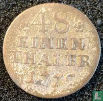 Pruisen 1/48 thaler 1779