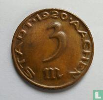 Aachen 3 mark 1920