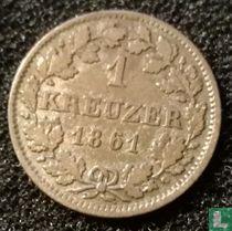 Beieren 1 kreuzer 1861