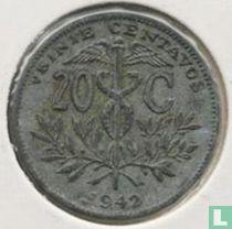 Bolivia 20 centavos 1942