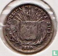 Costa Rica  5 centavos 1889