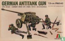 German anti-tank gun 7.5 cm pak40