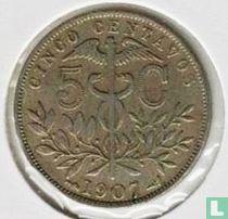 Bolivia 5 centavos 1907