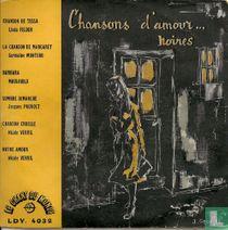 Chansons d'amours...noires